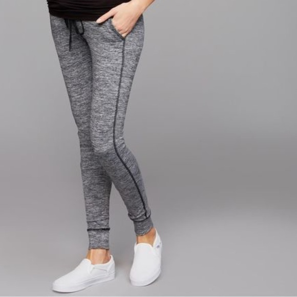 2a90e3b98b024 A Pea in the Pod Pants - Under Belly Hacci Knit Maternity Jogger Pant
